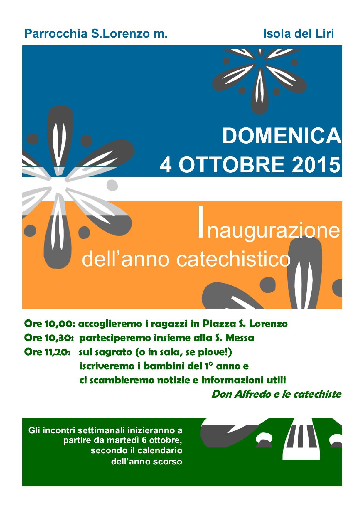Apertura Anno Catechistico - 001