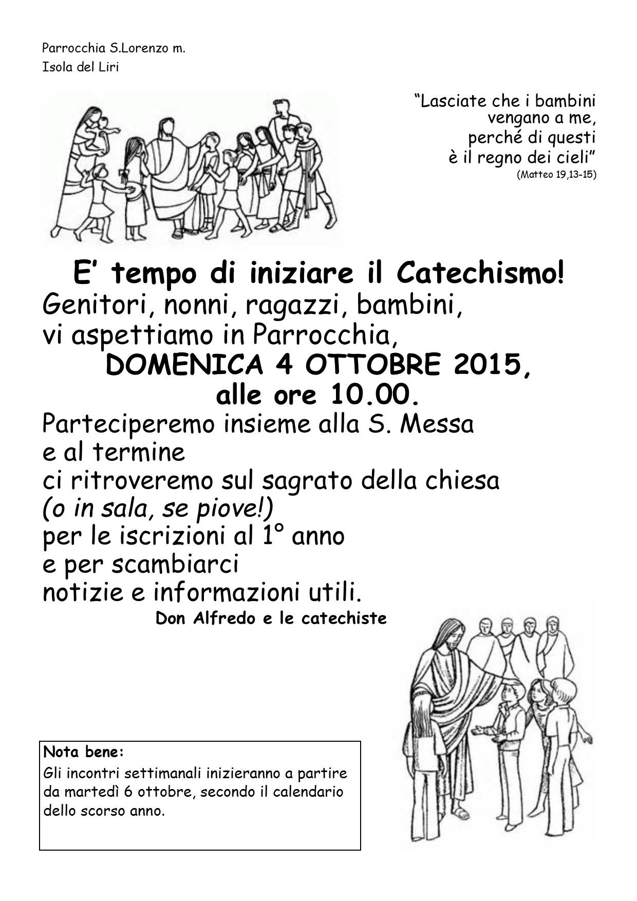 Apertura Anno Catechistico - 002