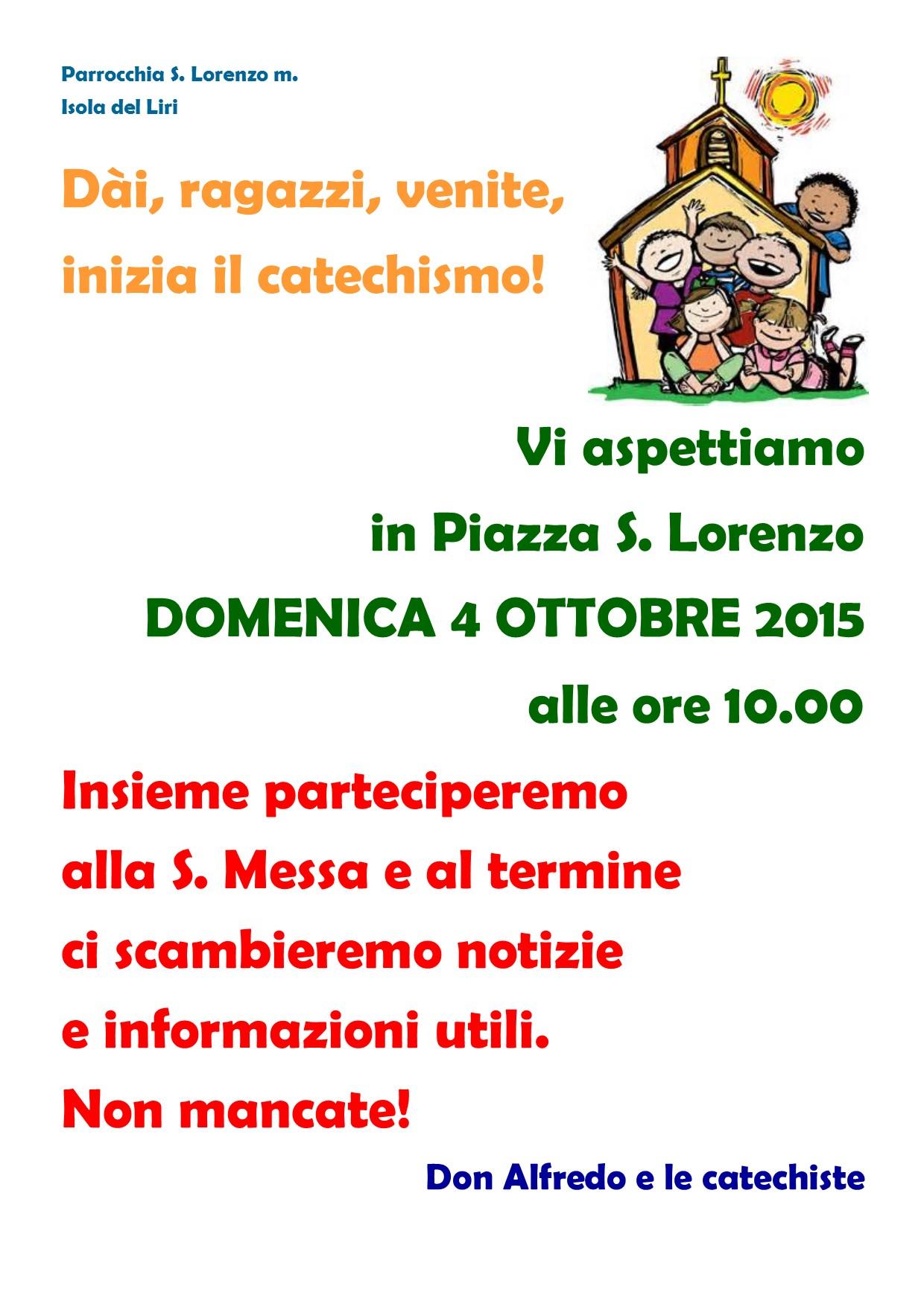 Apertura Anno Catechistico - 003