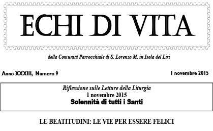 San Loreno Martire IT - Echi Di Vita - 2015_16
