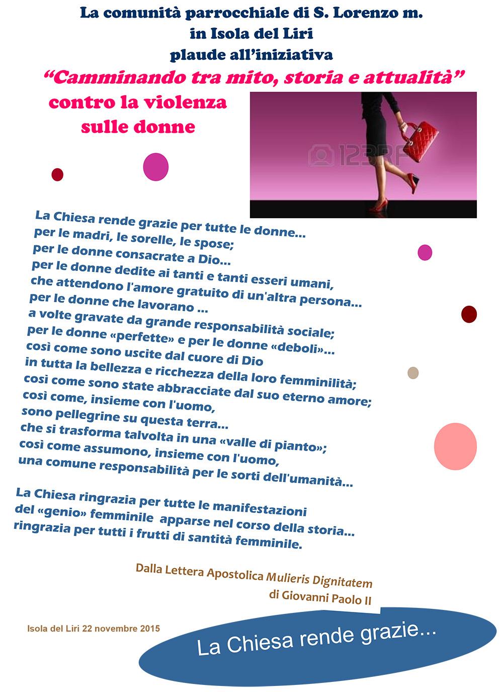 San Lorenzo Martire -  Camminata Donne