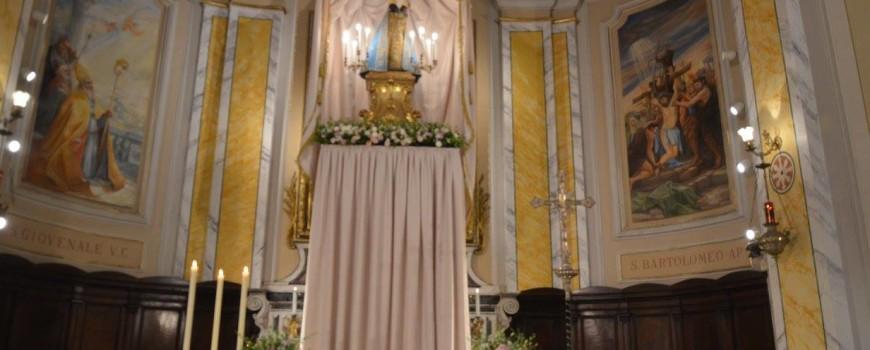 2017 12 12 - San Lorenzo Parrocchia Martire Isola Del Liri - Madonna di Loreto Messa e processione - 001