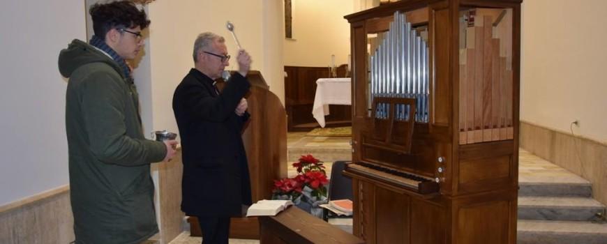 2018 01 11 - San Lorenzo Parrocchia - Benedizione del nuovo organo nella Chiesa di Sant'Antonio - 002