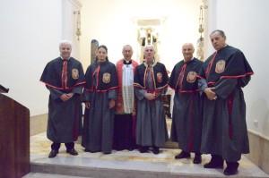 2018 07 06 - San Lorenzo Parrochia Isola Liri - Messa Vestizione Confratelli Processione - 005