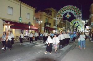 2018 07 06 - San Lorenzo Parrochia Isola Liri - Messa Vestizione Confratelli Processione - 008