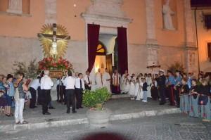 2018 07 06 - San Lorenzo Parrochia Isola Liri - Messa Vestizione Confratelli Processione - 015