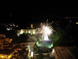 2018 07 08 - San Lorenzo Parrochia Isola Liri - Foto Fuochi D'artificio festa Santissimo Crocifisso - 000