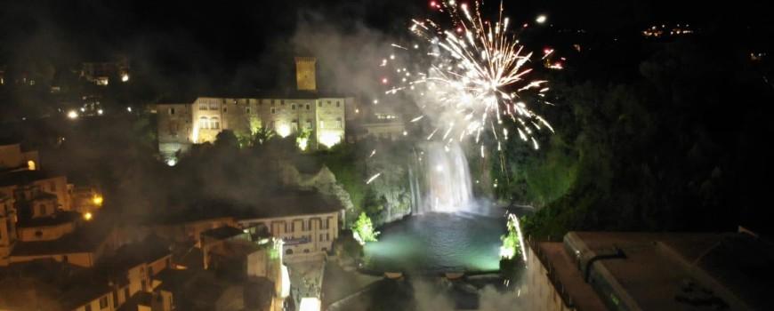 2018 07 08 - San Lorenzo Parrochia Isola Liri - Foto Fuochi D'artificio festa Santissimo Crocifisso - 001
