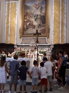 2018 09 16 - San Lorenzo Parrochia Isola Liri - XXIV domenica del tempo ordinario -Chi sono io per te - 003