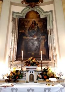 2018 09 18 - San Lorenzo Parrochia Isola Liri - Celebrazione eucaristica presso la cappella della Madonna delle Grazie - 000