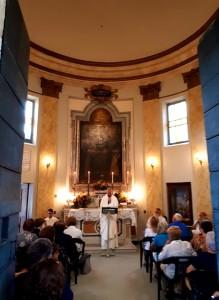 2018 09 18 - San Lorenzo Parrochia Isola Liri - Celebrazione eucaristica presso la cappella della Madonna delle Grazie - 002