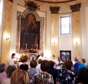 2018 09 18 - San Lorenzo Parrochia Isola Liri - Celebrazione eucaristica presso la cappella della Madonna delle Grazie - 005