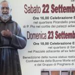 BENEDIZIONE E COLLOCAMENTO DELLA STATUA DEL SANTO PADRE PIO
