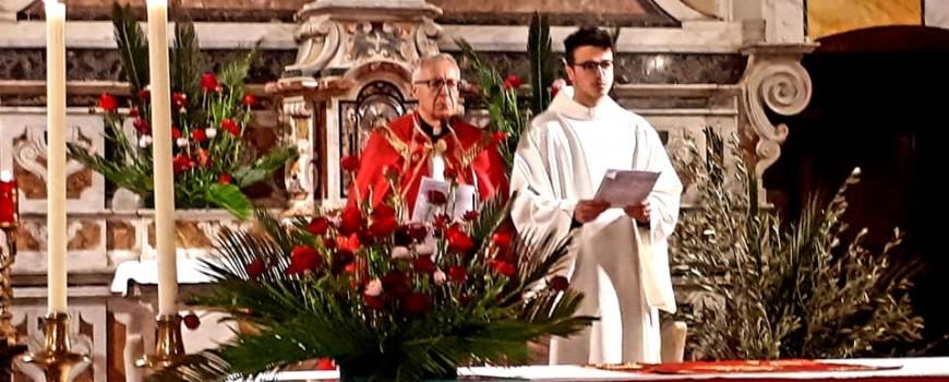 2019 04 12 - San Lorenzo Parrochia Isola Liri - Via Crucis - Uomini e donne sotto la Croce - 002