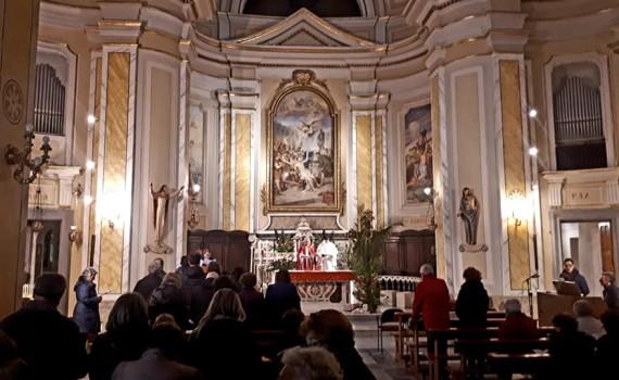 2019 04 12 - San Lorenzo Parrochia Isola Liri - Via Crucis - Uomini e donne sotto la Croce - 006