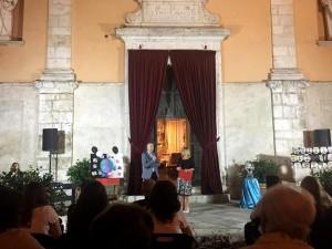 San Lorenzo Parrocchia - Isola del Liri - Festa del SS. Crocifisso 2019 - Premiazione Debora Bovenga - 001