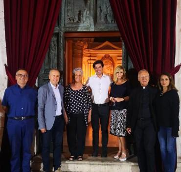 San Lorenzo Parrocchia - Isola del Liri - Festa del SS. Crocifisso 2019 - Premiazione Debora Bovenga - 003