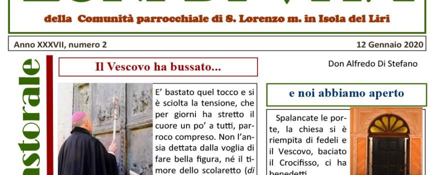 Parrocchia San Lorenzo - Echi di Vita 002 _ 2020